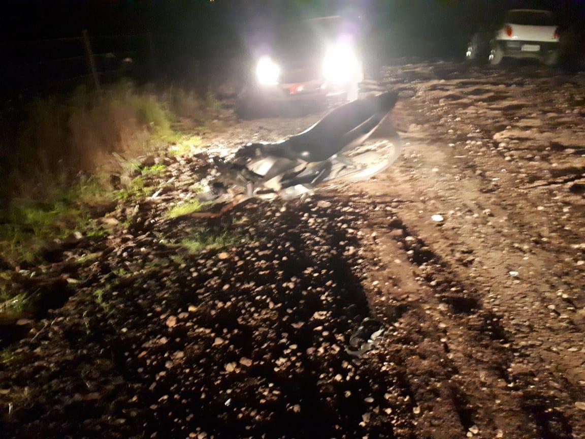Mulher morre em acidente com motocicleta no interior de Arroio do Tigre