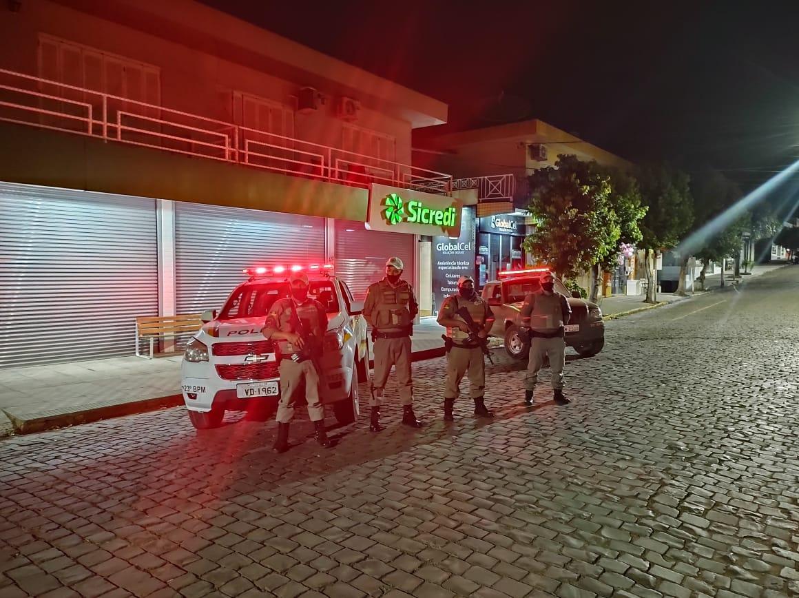 BM realiza ações preventivas de policiamento no Centro Serra