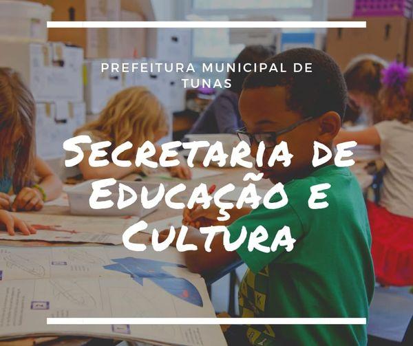 Secretaria de Educação de Tunas define calendário de entrega de atividades escolares