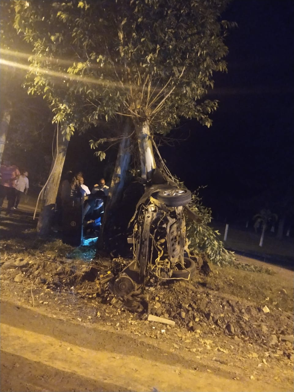 Quatro pessoas ficam feridas em acidente de trânsito em Sobradinho