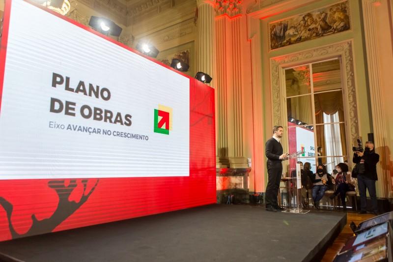 Plano de obras prevê investimento de R$ 1,3 bilhão em infraestrutura viária