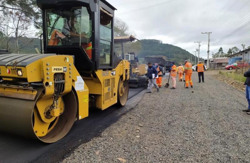Governo inicia recuperação da ERS-347 entre Segredo e Ibarama