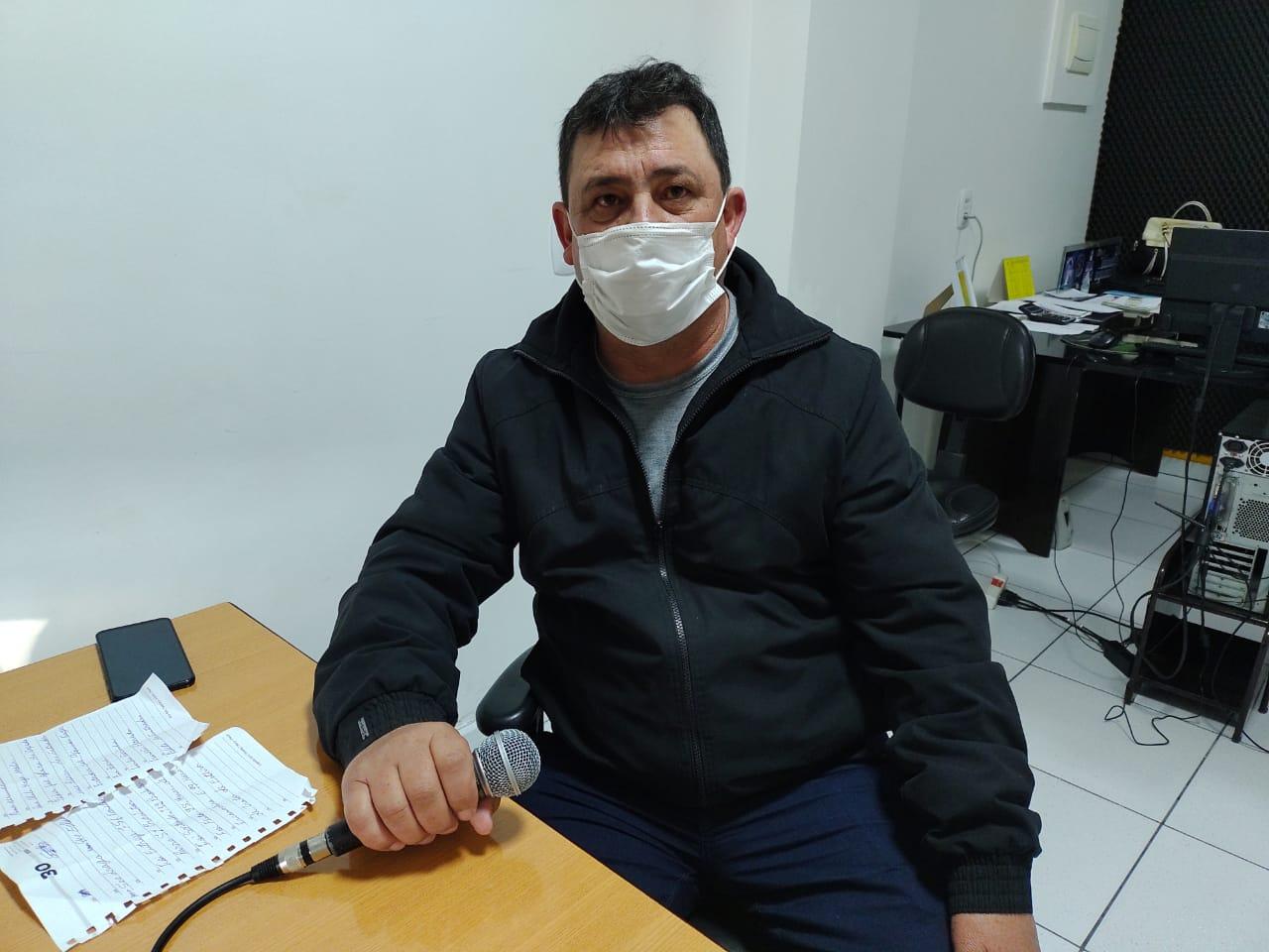 Secretário de Obras faz relato dos trabalhos no município de Arroio do Tigre