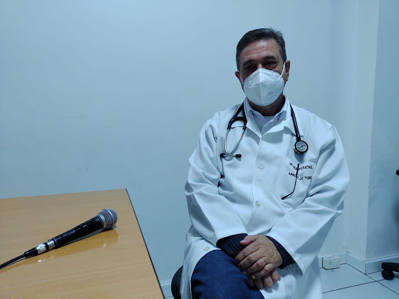 No Dia Mundial da Imunização, Gilberto Rathke reforça o pedido para as pessoas se vacinar contra a Covid-19