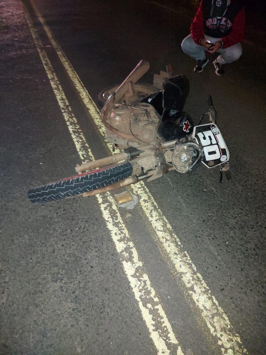 Acidente com moto faz uma vítima no interior de Sobradinho