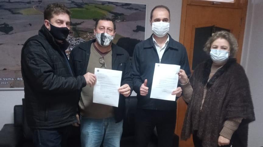 Estrela Velha recebe emenda parlamentar do Deputado Afonso Hamm