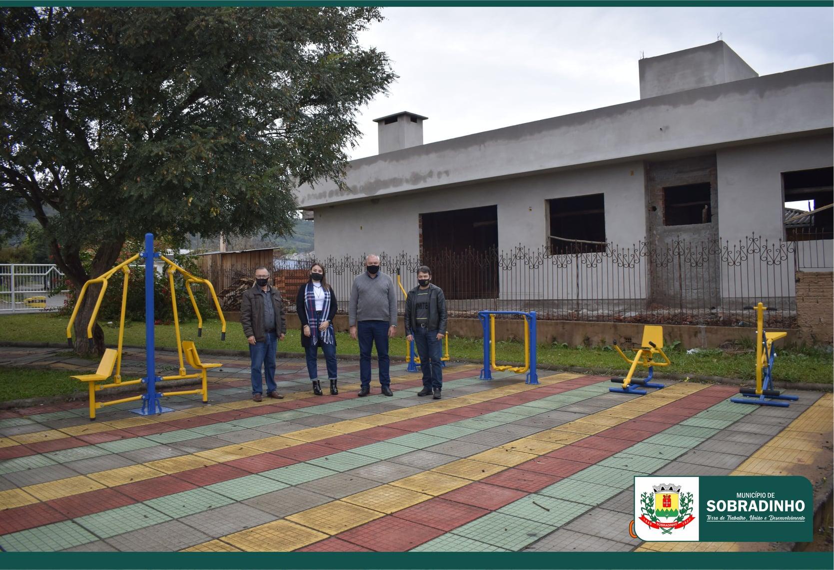 Academias são instaladas nos bairros Maieron e União em Sobradinho