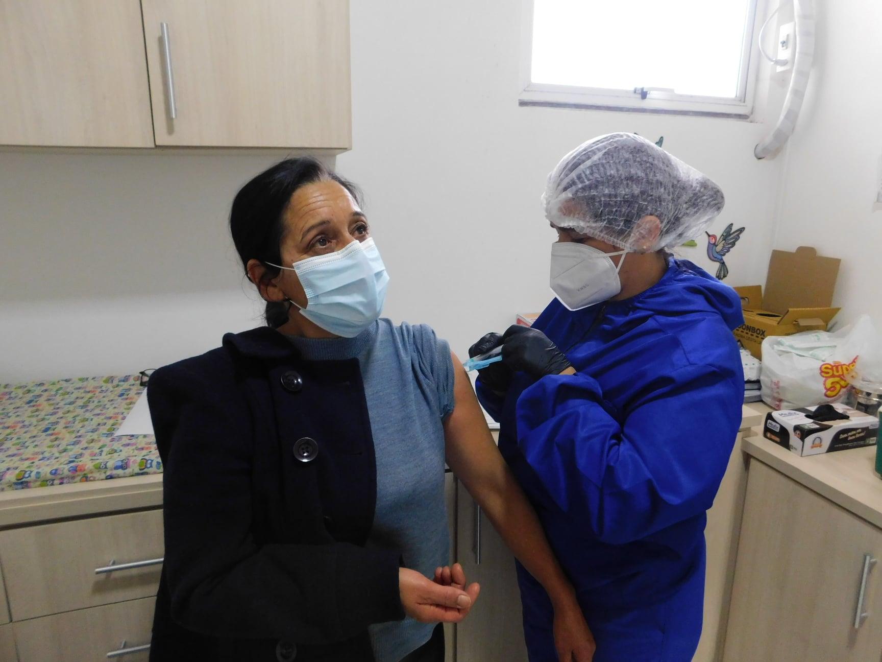 Salto do Jacuí aplicou mais de 600 doses de vacinas contra Covid-19 no final de semana