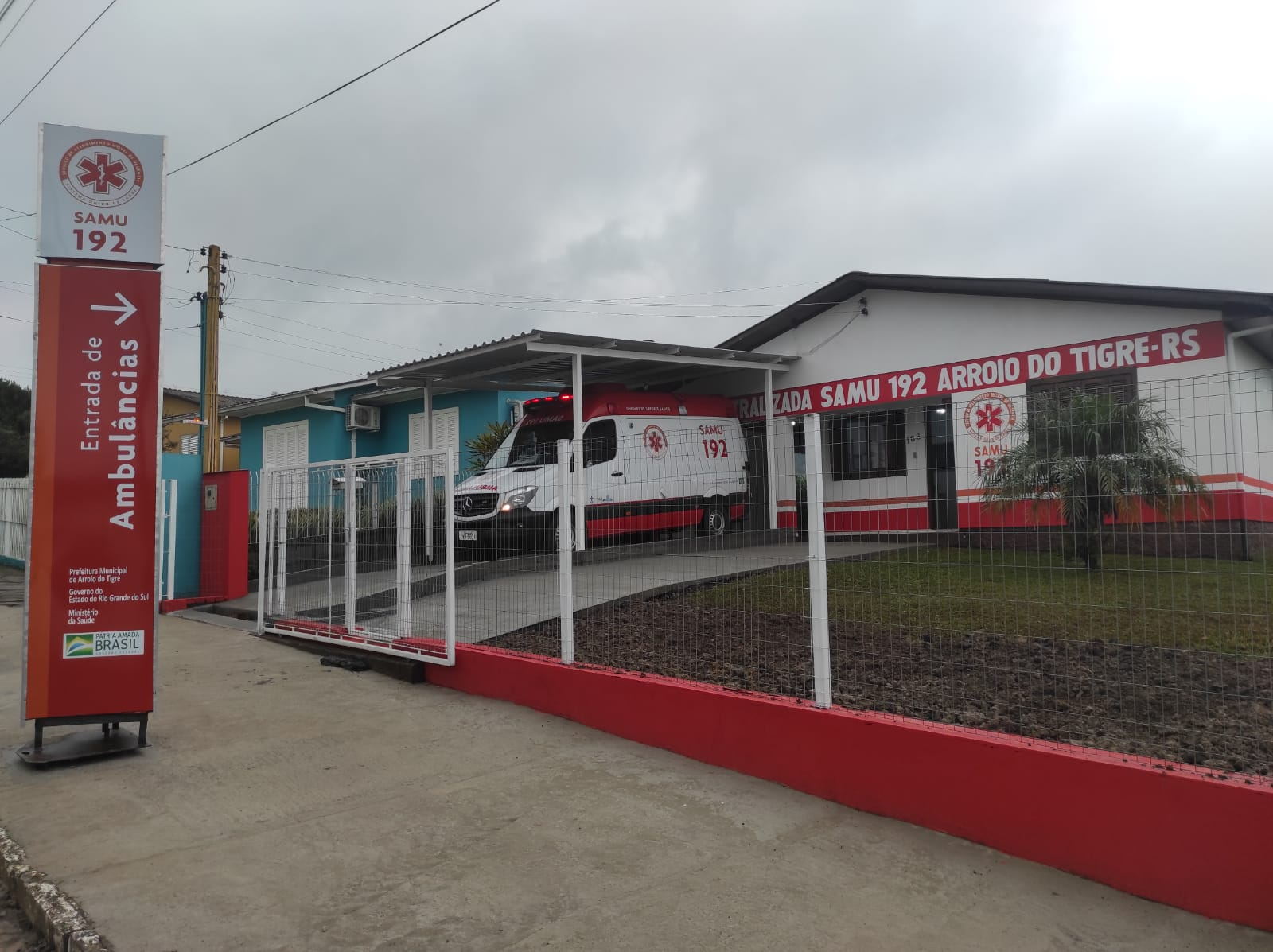 Base do SAMU de Arroio do Tigre está em novo local