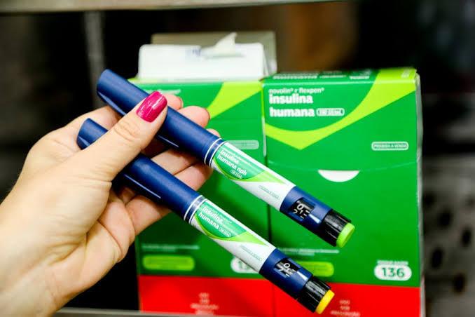 Canetas de insulinas são disponibilizadas para pacientes diabéticos em Campos Borges