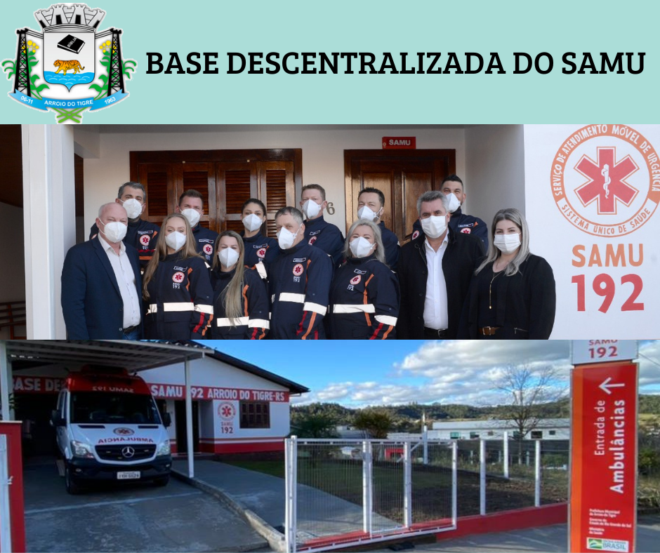 Nova base do SAMU de Arroio do Tigre é inaugurada