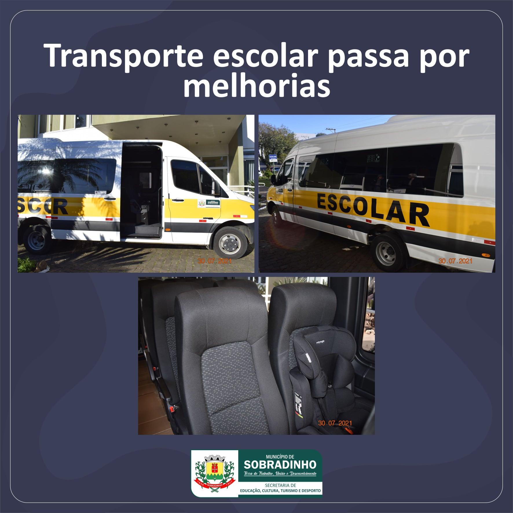 Transporte escolar de Sobradinho passa por melhorias