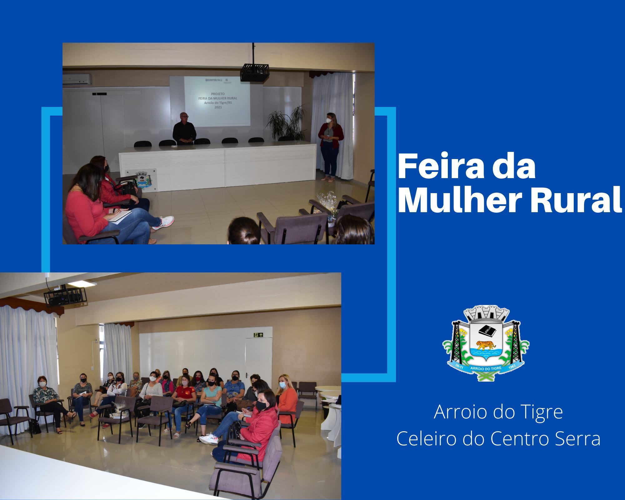 """Projeto """"Feira da Mulher Rural"""" é lançado em Arroio do Tigre"""