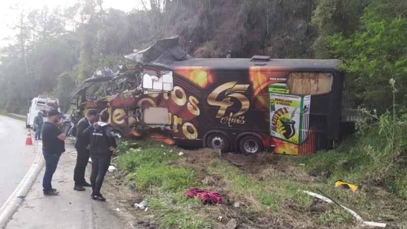 Vocalista do grupo Garotos de Ouro morre em acidente de trânsito