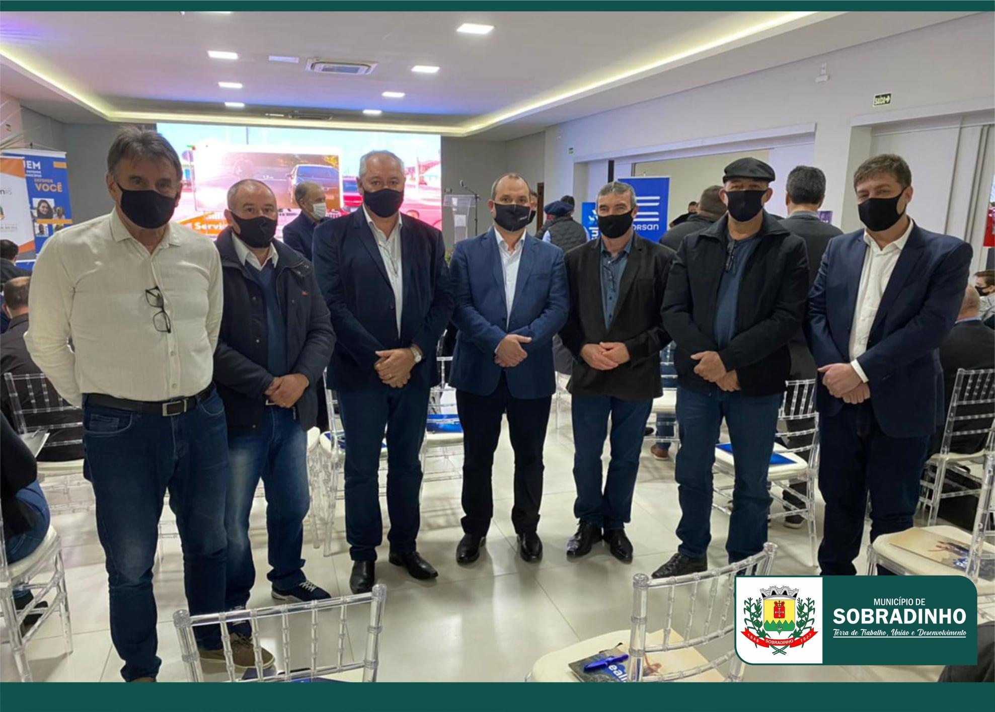 Prefeitos da região participam de evento na Expointer