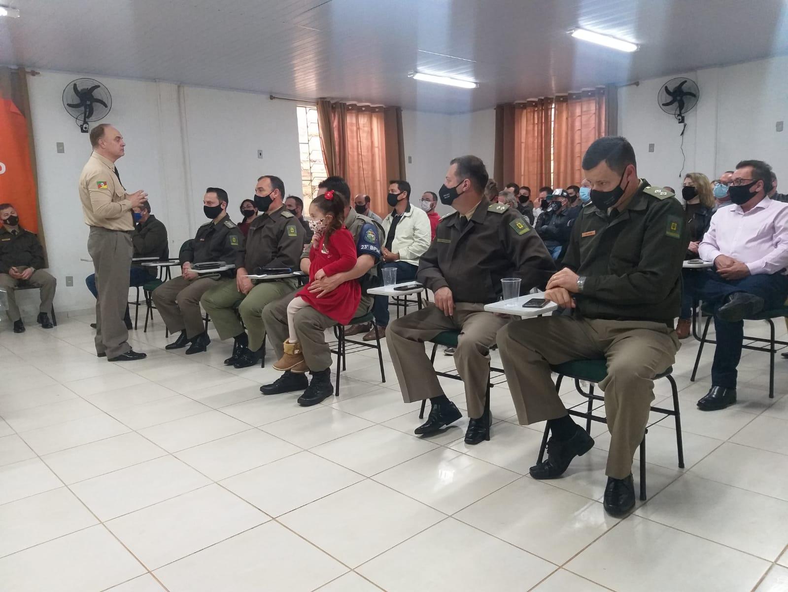 Comandante Regional realiza visitas técnicas em Tunas, Lagoão e Segredo