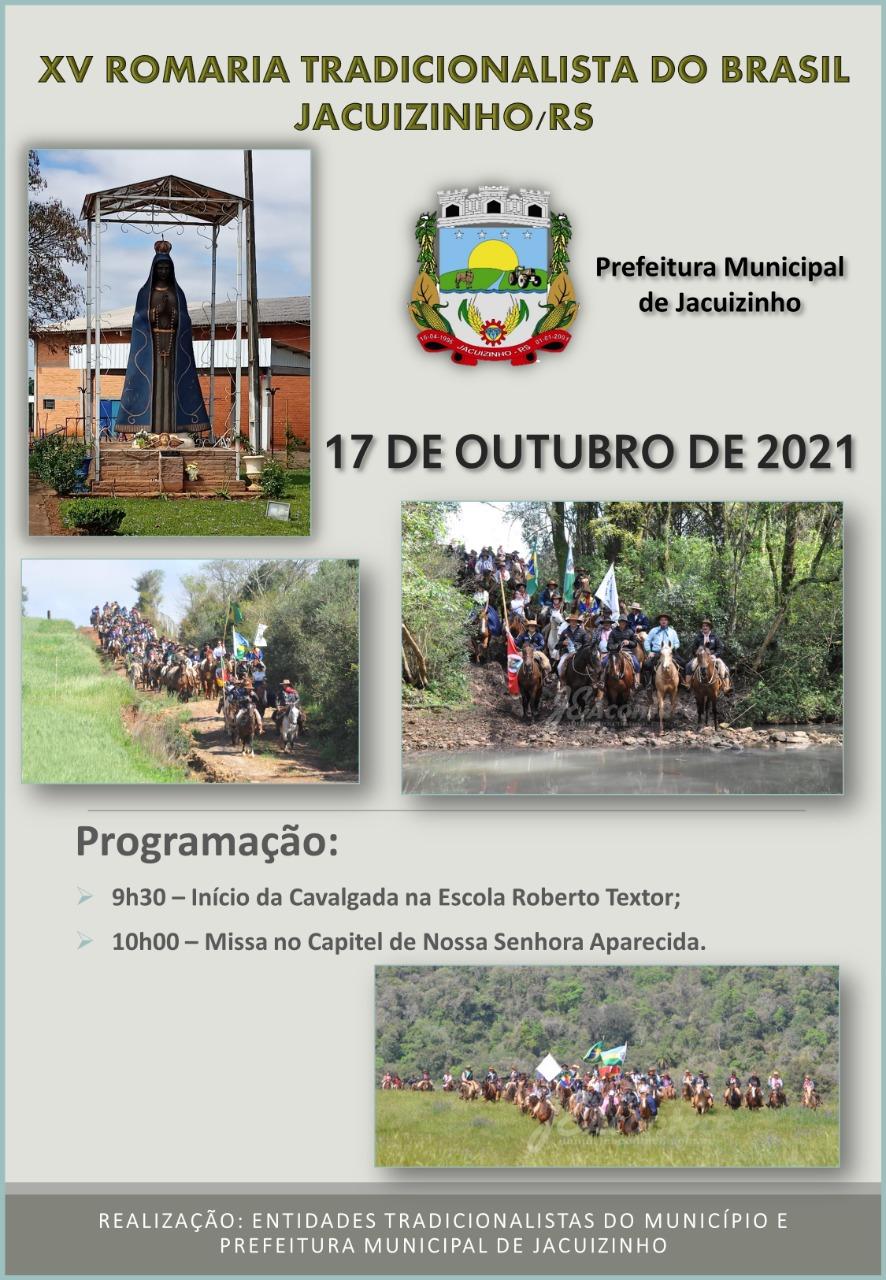 Romaria Tradicionalista do Brasil ocorre neste domingo