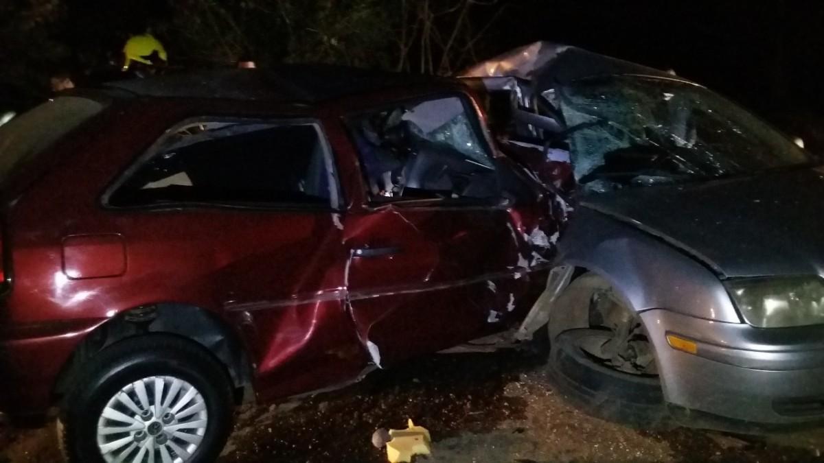 PRF atende acidente com três óbitos em São José do Herval