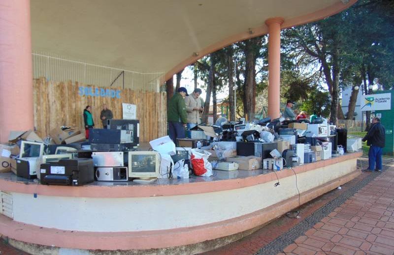 Recolhimento do lixo eletrônico acontece neste sábado (07) em Soledade