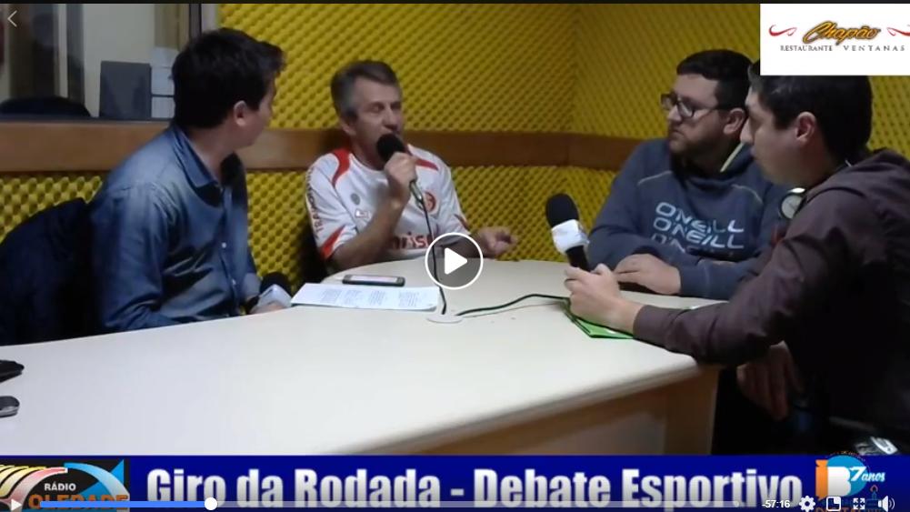 GIRO DA RODADA – DEBATE ESPORTIVO – 24/09/18