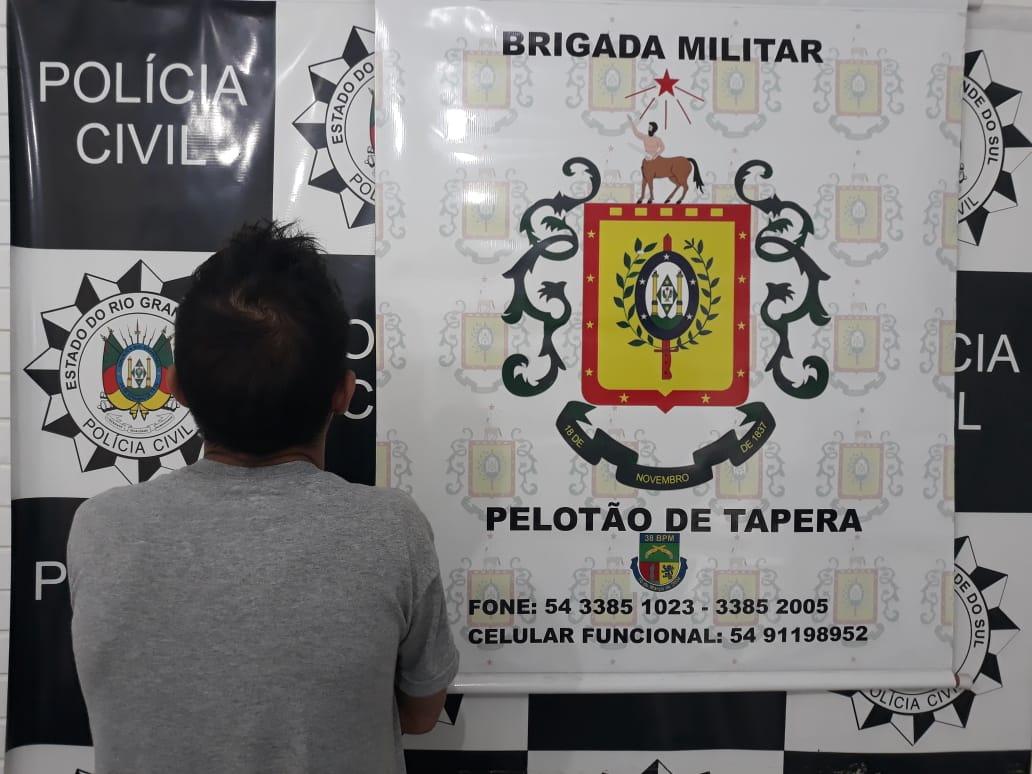Polícia Civil e Brigada Militar realizam operação em repressão ao tráfico de entorpecentes em Tapera