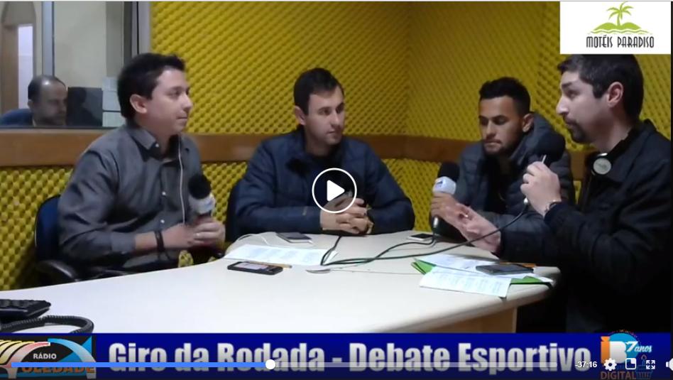 PROGRAMA GIRO DA RODADA – DEBATE ESPORTIVO – 03/09
