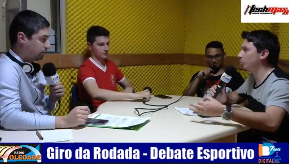 GIRO DA RODADA – DEBATE ESPORTIVO – 15/10/18