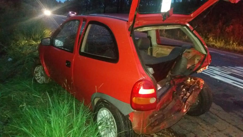 Acidente de trânsito resulta em 4 feridos na BR-386 em Tio Hugo