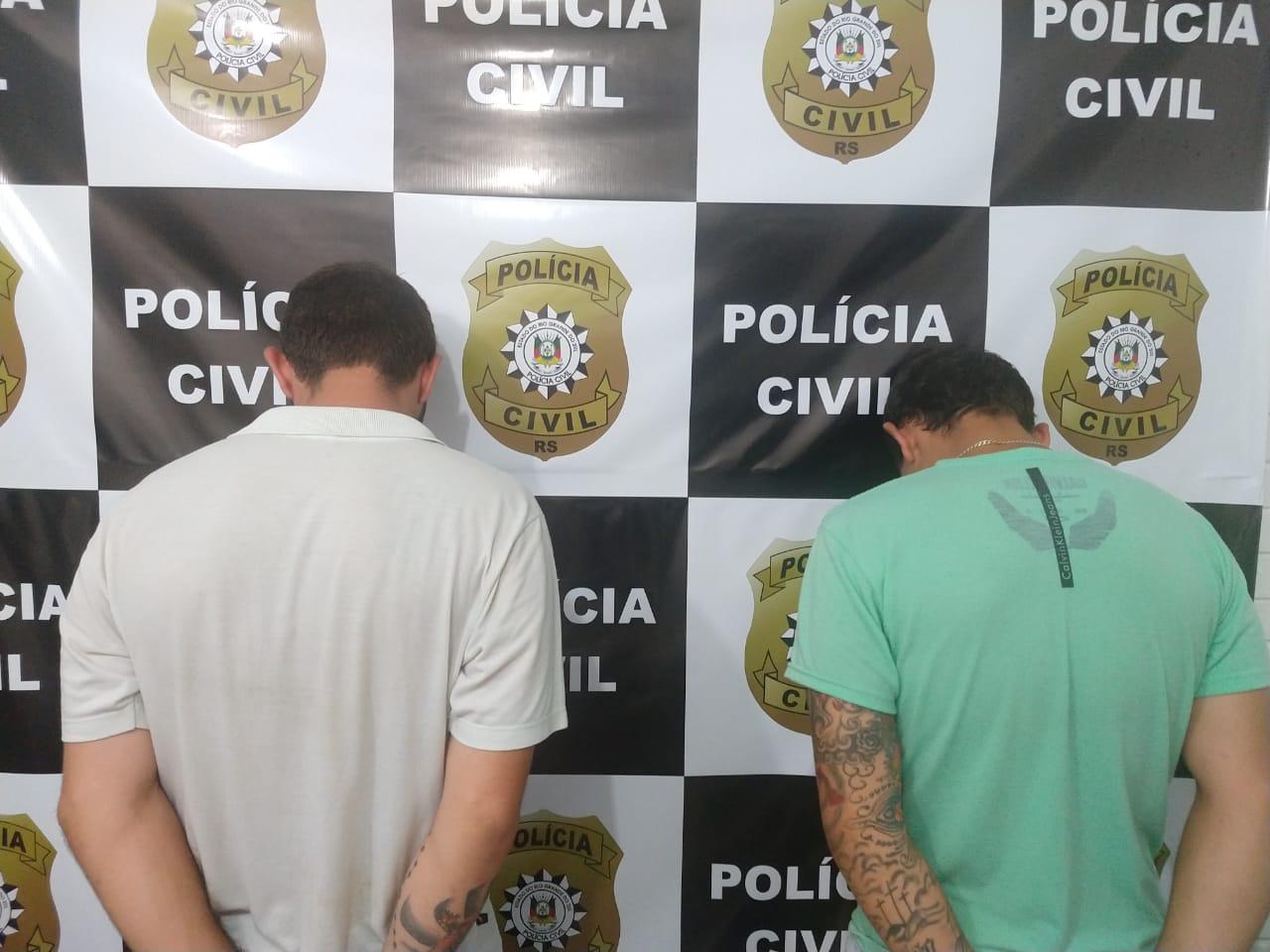 """Operação """"Tão Somente"""" prende dois indivíduos por tráfico de drogas em Tapera"""