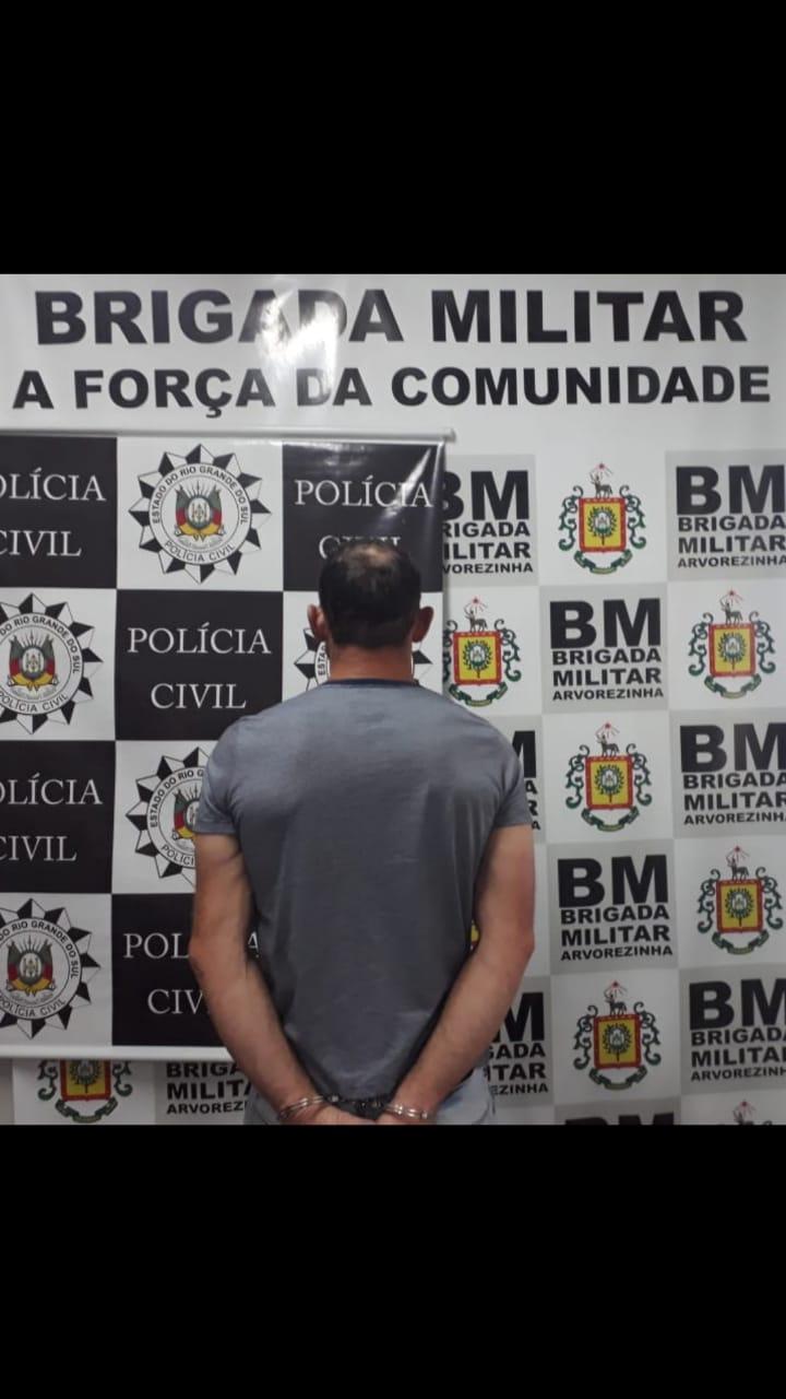 Brigada Militar e Polícia Civil prendem o quarto indivíduo por tráfico de drogas em Arvorezinha