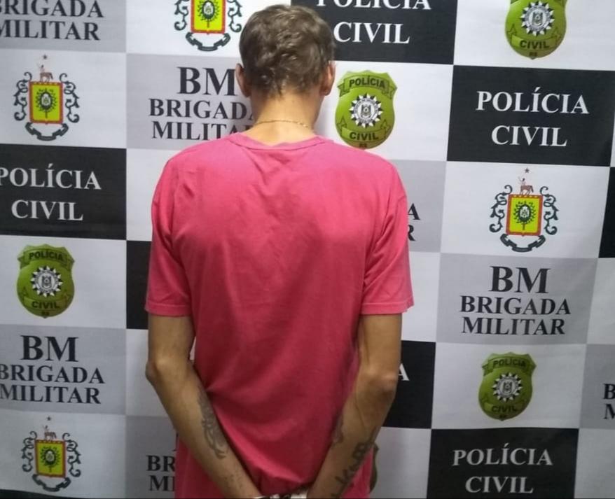 BM e Polícia Civil prendem homem que distribuía dinheiro falso em Arvorezinha