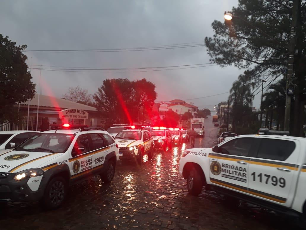 Brigada Militar de Soledade recebe seis novas viaturas através da Bancada Federal Gaúcha