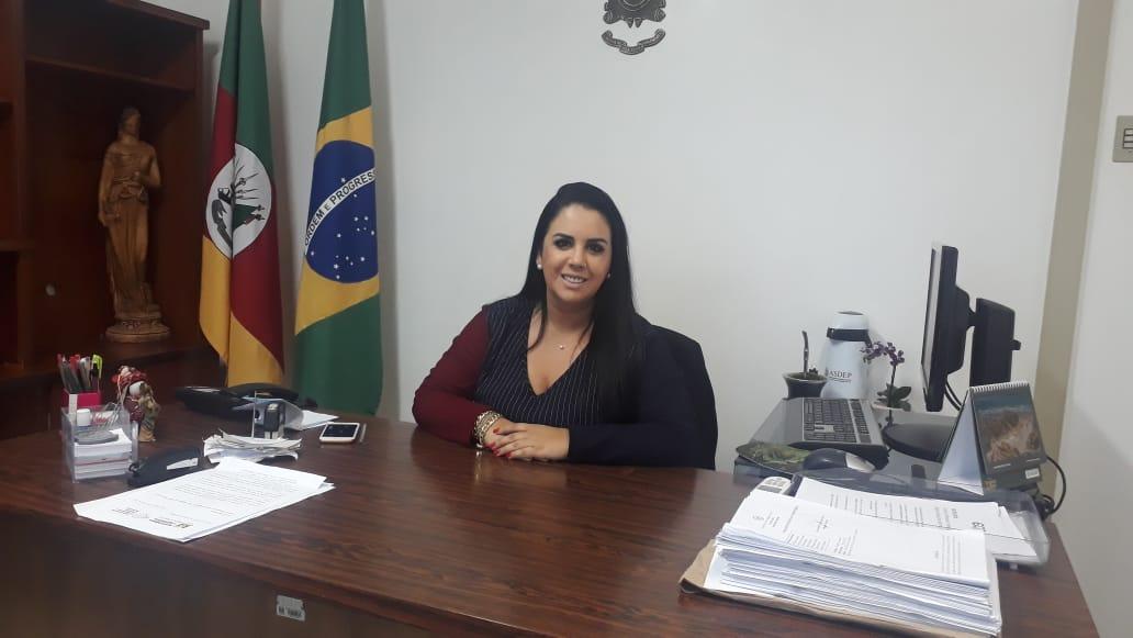 Delegada de Polícia Regional Fabiane de Vargas Bittencourt faz balanço de seu primeiro mês de atuação em Soledade