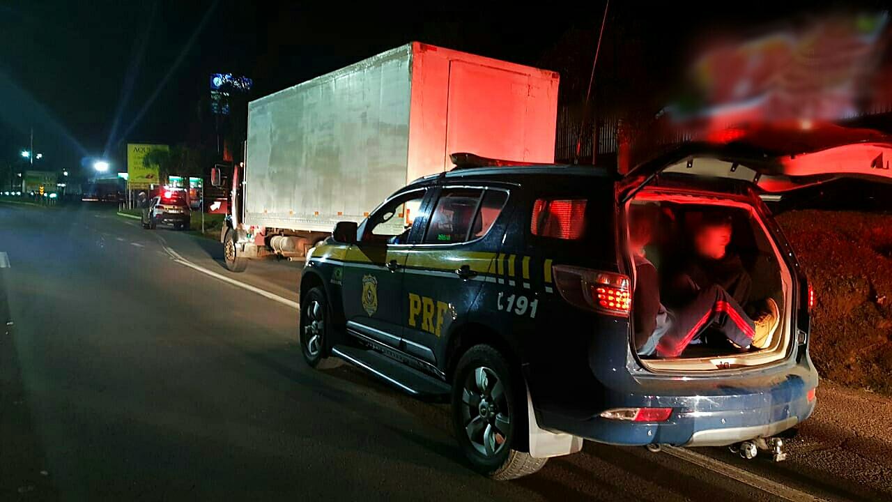 PRF recupera caminhão furtado