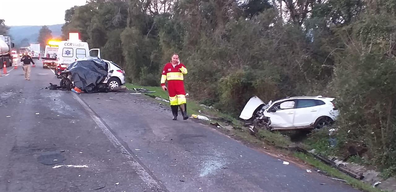 Seis pessoas morrem em acidente na BR-386 em Soledade