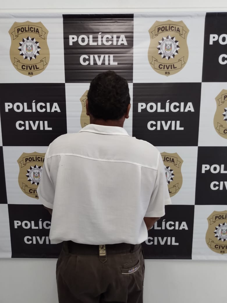 Polícia Civil cumpre mandado de prisão em Espumoso