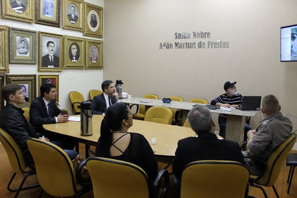 Videomonitoramento volta a ser discutido pelo Gabinete de Gestão Integrada Municipal em Soledade
