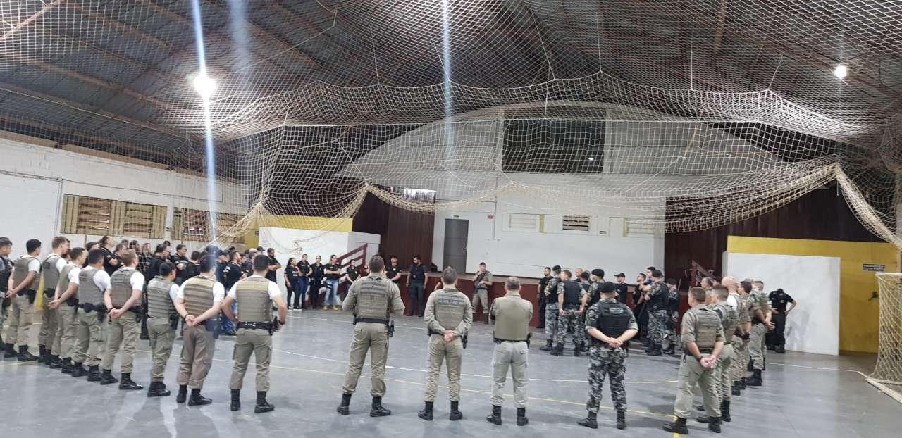 Operação Enclausurados é deflagrada pela Brigada Militar e Polícia Civil em Espumoso