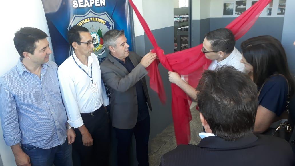 Seapen e Susepe entregam obras do Anexo do Presídio Estadual de Soledade e reativam vagas