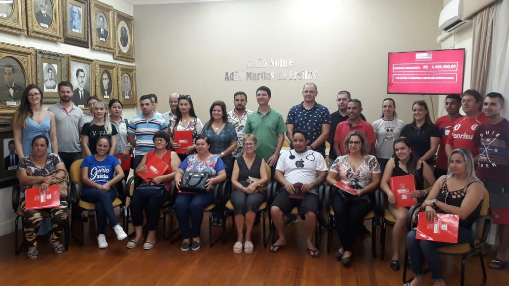 Banco do Empreendedor concede 18 novos créditos a microempresários de Soledade