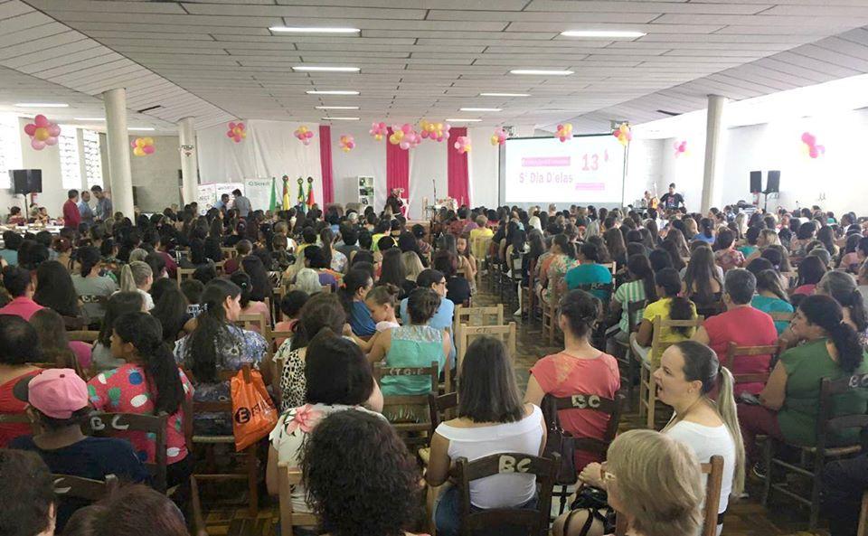 Mulheres são homenageadas na 5ª edição do Dia D'Elas em Barros Cassal