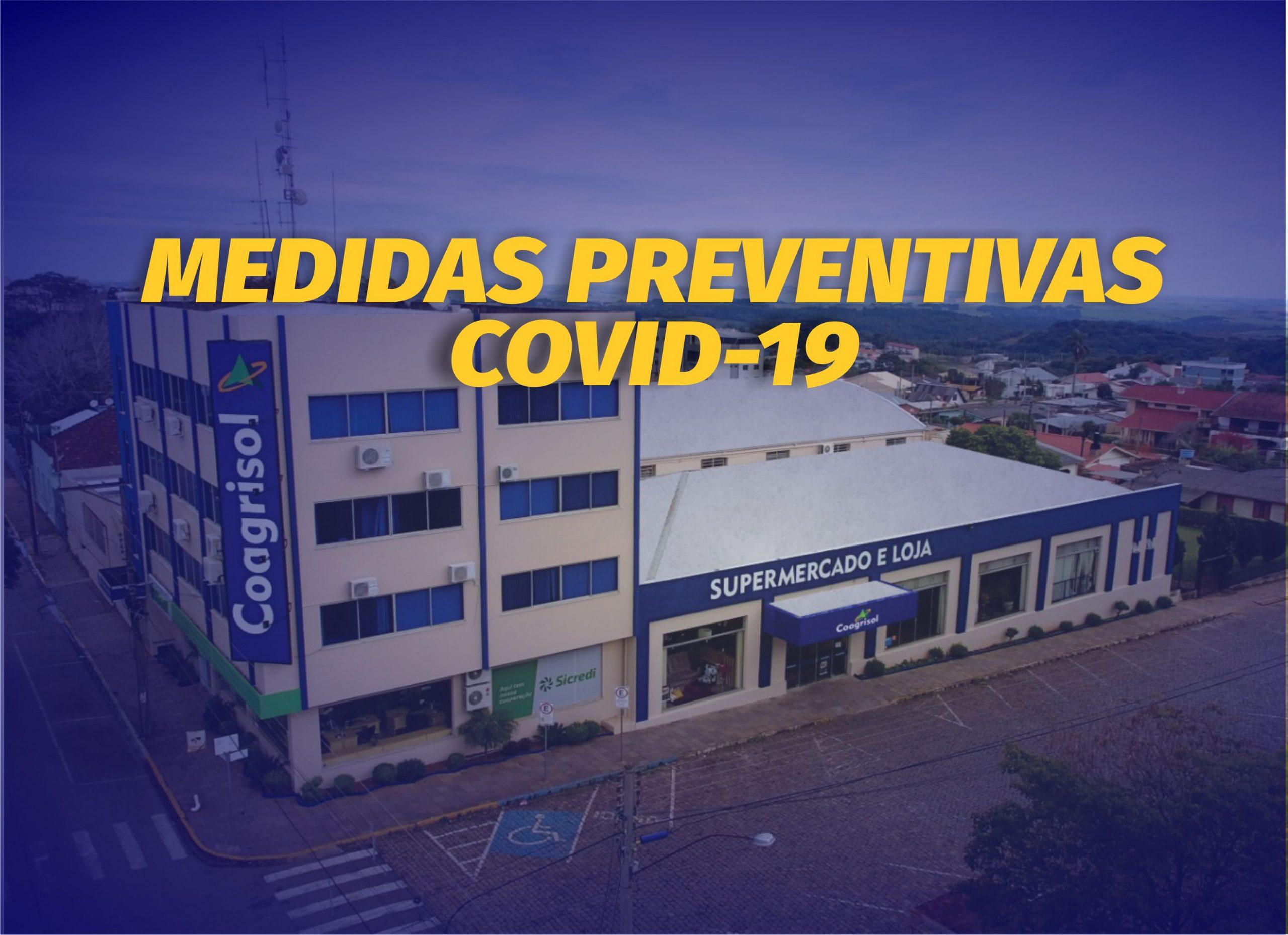 Coagrisol amplia medidas preventivas ao COVID-19