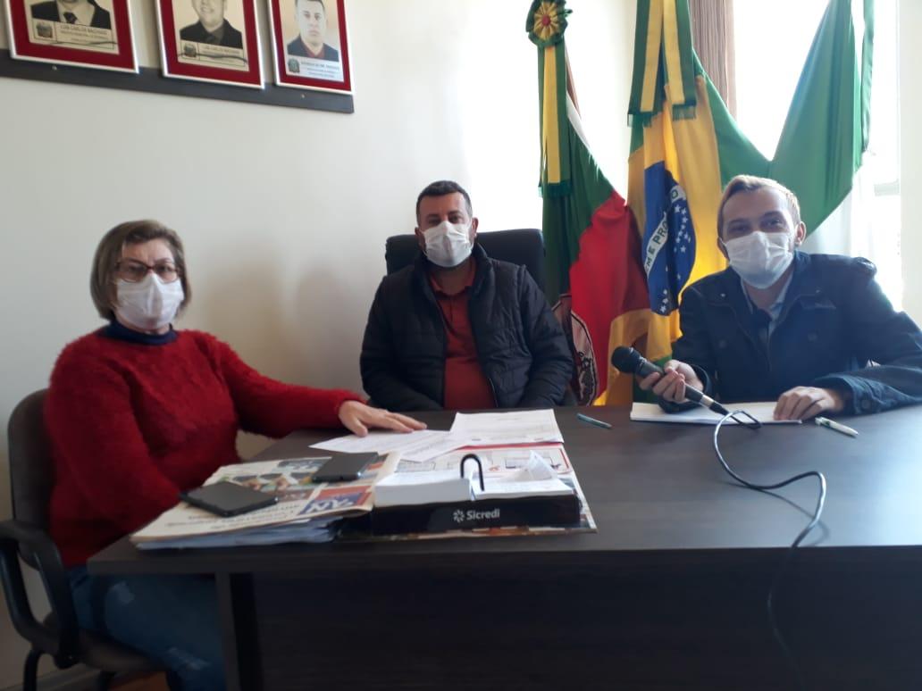 Mormaço decreta uso obrigatório de máscaras pela população