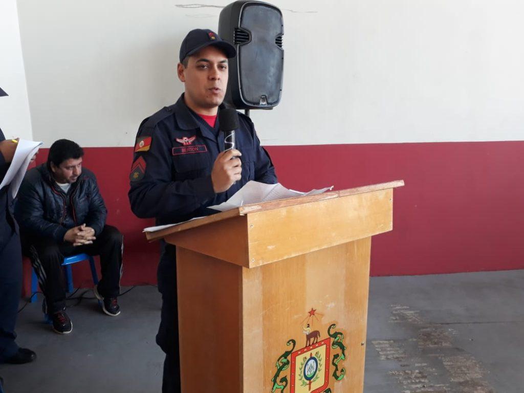 Corporação de Bombeiros de Soledade retoma atividades de protocolo de Planos de Prevenção e Proteção contra Incêndios (PPCI)