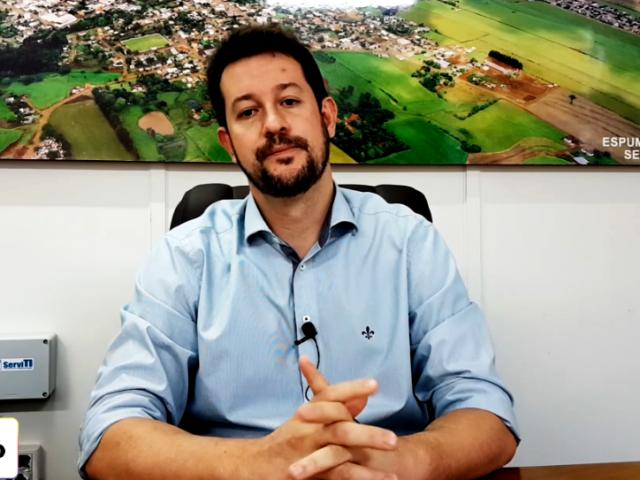 Prefeito de Espumoso anuncia instalação de sistema de videomonitoramento no interior do município