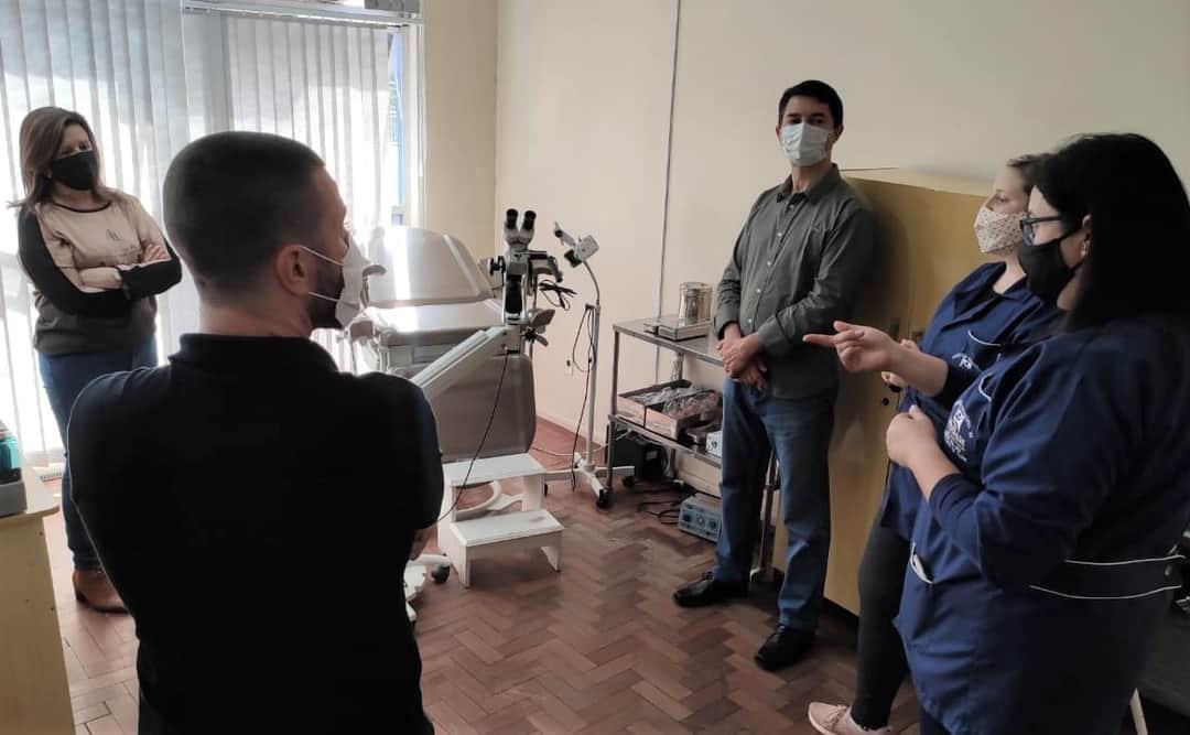 Secretaria da Saúde de Soledade adquire equipamento para garantir exame ginecológico mais detalhado