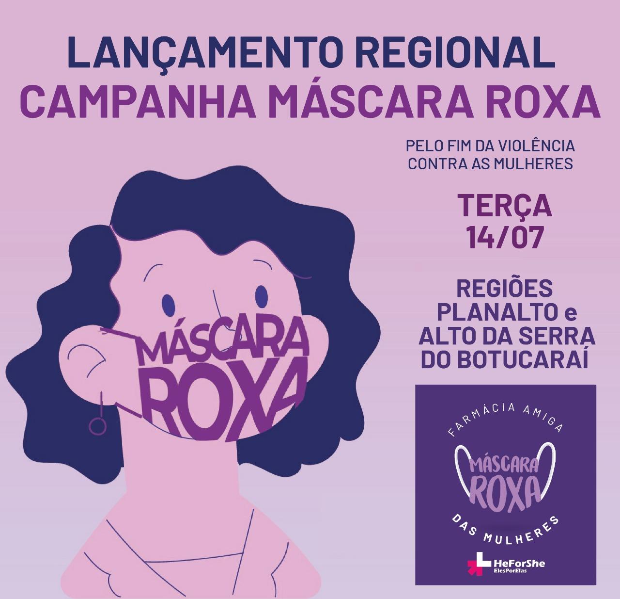 Comitê Gaúcho da ONU Mulheres lança Campanha Máscara Roxa nas regiões de Passo Fundo e Soledade