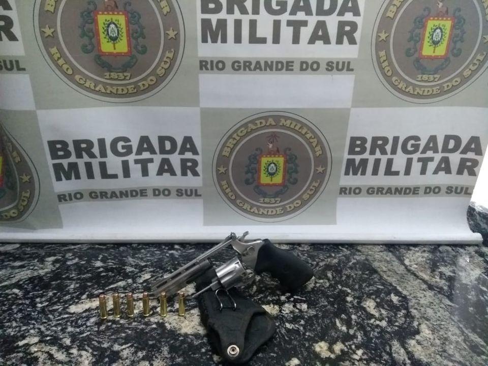 Patrulha Rural prende homem por porte irregular de arma de fogo em São José do Herval