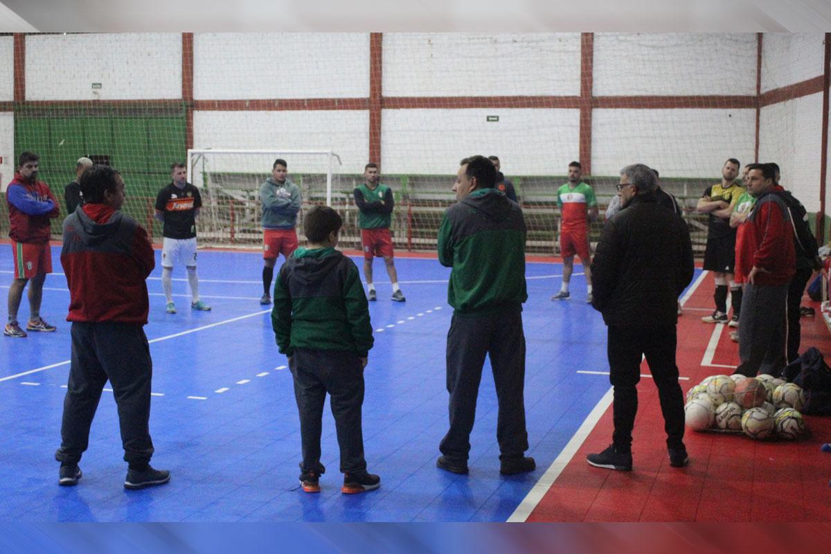 FX Futsal inicia preparação visando a disputa da Liga Gaúcha Unificada