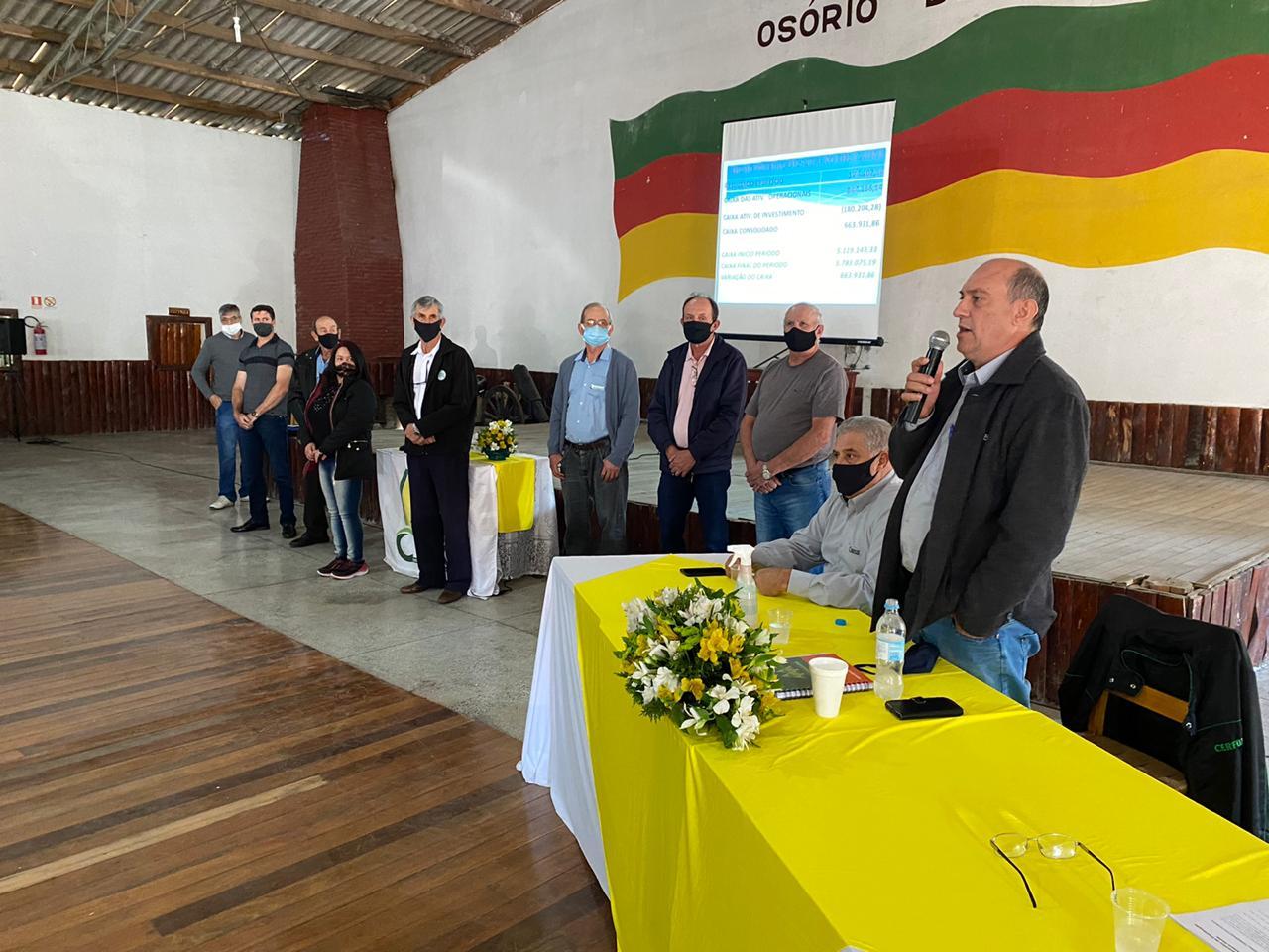 CERFOX realiza assembleia para prestação de contas aos seus associados